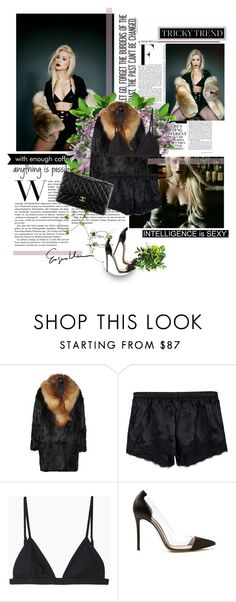 """""""Middle of Miami"""" by monica-kiss ❤ liked on Polyvore featuring COVERGIRL, Inès & Marèchal, Gold Hawk, T By Alexander Wang, Chanel, Gianvito Rossi, Nicki Minaj, women's clothing, women and female"""