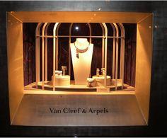 Jewelry Displays by Van Cleef & Arpels