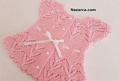 2 KIZ 1 ERKEK BEBEK YELEKLERİ VE AÇIKLAMALARI   Nazarca.com Crochet For Kids, Crochet Baby, Crochet Top, Crochet Fashion, Baby Knitting Patterns, Baby Kids, Sweaters, Women, Vest Coat