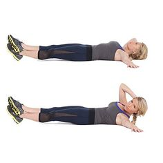 Sometimes small moves can have major muscle payoffs, like these killer OBLIQUE CRUNCHES that will flatten your abs and help cinch your waist | health.com