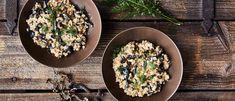 suppilovahverorisotto speltistä Koti, Risotto, Ethnic Recipes