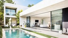 Sleek modern home is an indoor-outdoor dream in Dallas - Curbedclockmenumore-arrow : Designed by local firm Wernerfield