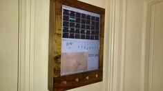 My try at a Raspberry Pi Wall Calendar - Imgur