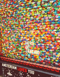 Street art amsterdam the netherlands