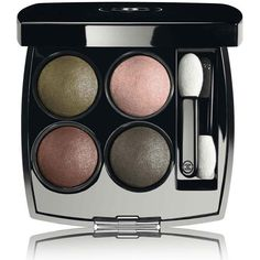 CHANEL LES 4 OMBRES - COLLECTION LES AUTOMNALESMulti-Effect Quadra... (60 CHF) ❤ liked on Polyvore