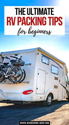 Packing up a motorhome, camper or RV? After 2 years on the road, we have PLENTY of tips and tricks on how to pack a motorhome and stop rattles! Road Trip Packing List, Road Trip Europe, Packing Tips For Vacation, Road Trip Destinations, Road Trip Essentials, Packing Lists, Travel Movies, Rv Travel, Travel Packing