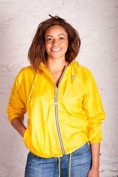 Claudette Klassic Waterproof Rain Jacket in Yellow