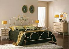 Wrought Iron Bed Design by lamp2