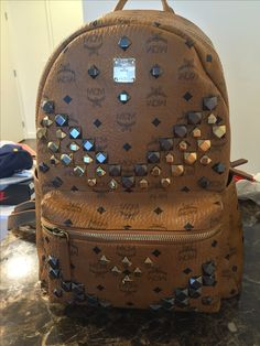 1859ea7d834 Mcm backpack www.luxurysnob.com