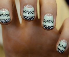 nails #nails #tribal