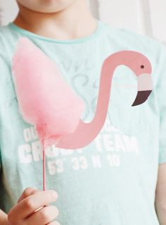 Süßes und Leckeres für die Flamingoparty * einfache Rezepte und Ideen für Flamingo Kekse, Cake Pops und mehr * inklusive kostenlose Flamingo Bastelvorlage