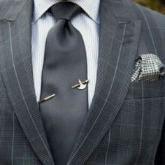 The simplest of fashion trend that can really change the way people look at you at the work place is the tie pin!