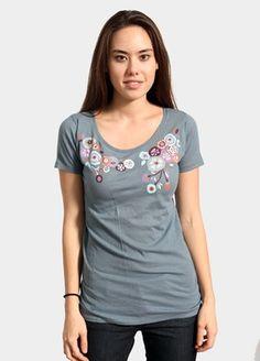 Cut Flowers T-Shirt from Brooklyn Industries