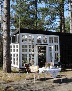 Super 32 Great Drivhus af gamle vinduer images | Green houses, Glass YZ16