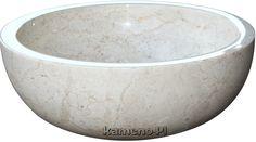 Marmurowa umywalka z naturalnego kamienia Gemma 501 Lux4home - Panele i płytki kamienne, kamień elewacyjny, umywalki, wanny