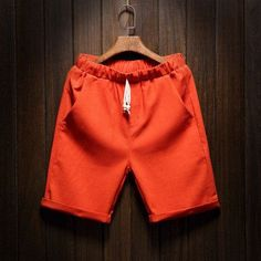 Summer Linen Shorts 2017 New Men's Beach Shorts Casual Fashion Men Bermuda Shorts Brand Large Size Male M-5XL