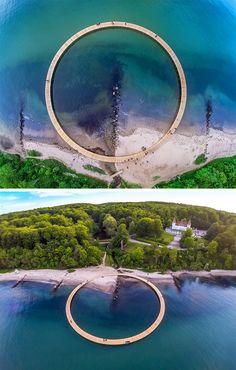 Gjøde & Povlsgaard arkitekter - The infinite bridge