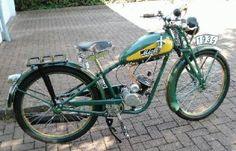 Miele 420 Herren-Motorfahrrad, 1939, 1-cyl. 2,25hp 98cc Sachs motor - Germany