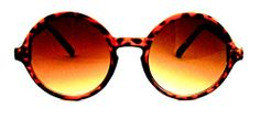 Big City Mid-Size Round Sunglasses - 409 Tortoise $15