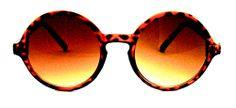 Big City Mid-Size Round Sunglasses - 409 Tortoise $15