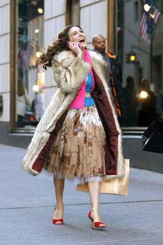 Carrie Bradshaw's 50 Best Looks - HarpersBAZAAR.com