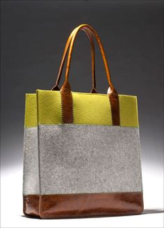 Graf & Lantz - Jaunt Tote - love the colors Chanel Tote, Beautiful Handbags, Best Bags, Small Leather Goods, Luxury Bags, Pistachio, Clutch Wallet, My Bags, Bag Making