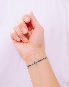 Inspiring Quote Tattoos | POPSUGAR Smart Living