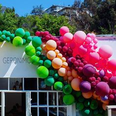 Geronimo Balloons - Getting ready for a new installation .... What should our next color/ theme be!?