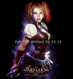Harley Quinn Stands Tall In Latest BATMAN: ARKHAM KNIGHT Promo Pic