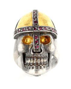 Atelier Minyon - Skull Crusader Ring