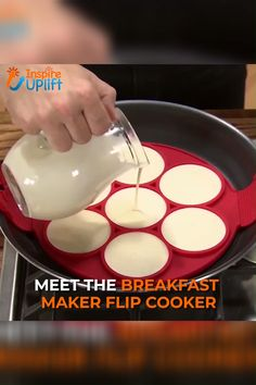 Breakfast Maker Flip Cooker 😍,Breakfast Maker Flip Cooker 😍 Great for cooking eggs, omelets, hash browns and so much more! The Flip Cooker is dishwasher safe. Cooking Gadgets, Cooking Tools, Cooking Eggs, Cooking Recipes, Cooking Box, Cooking Pasta, Cooking Cake, Cooking Appliances, Cooking Light