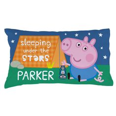"""BUBBLE GUPPIES PILLOWCASE /""""GOOD NIGHT/"""" Personalized Any NAME Super Soft Bedding"""