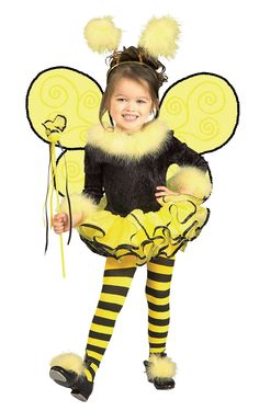 Bumblee Bee Toddler / Child Costume from CostumeExpress.com