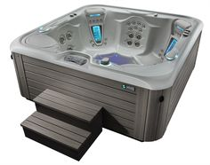 The Hot Spring Highlife Vanguard Is A Unique Tub That Features Collection Of Ful Jets Work To Target Common Stress Points