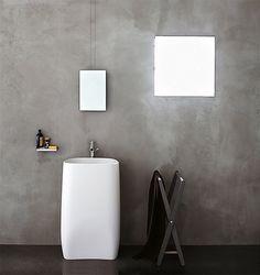 Pelkistetty vintage-kylpyhuone