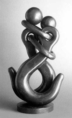 crochets de fer enlacés - art