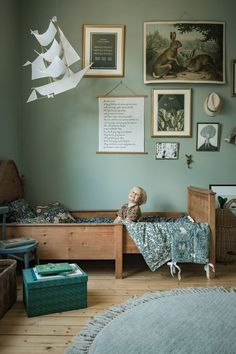 Scandinavian Kids Rooms, Scandinavian Style, Home And Deco, Kids Room Design, Girl Room, Kids Bedroom, Room Decor, Interior Design, Anna