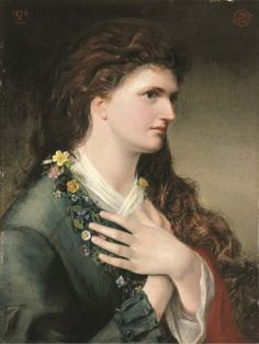 The Garland by Emma Sandys, 1870.