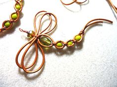 Instead of leather, how about copper wire?
