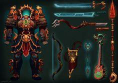 Millenium Dragon Armor by *Larbesta on deviantART Halloween Costume Props, Dragon Armor, Fantasy Illustration, Fantasy World, Concept Art, Character Design, Fan Art, Deviantart, Game Ui