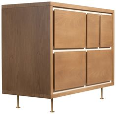 The asymmetry of the five-drawer Novella Dresser is highlighted by the contrasting, inset, ivory-painted panel. Large drawers provide storage for clothing and bulky items while the two smaller drawers