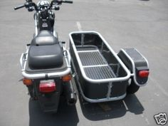 Honda Ruckus with custom cargo sidecar Bike Cargo Trailer, Motorcycle Trailer, Motorcycle Camping, Car Trailer, Trailers, Moped Scooter, Scooter Parts, Bmw Motorcycles, Vintage Motorcycles