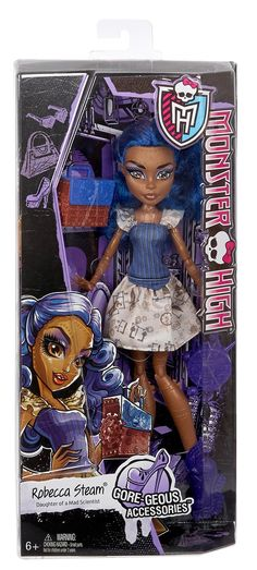 Monster High Gore-geous Accessories Robecca Steam Doll - Doll - 1