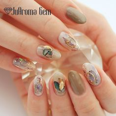 Pin by on Nails in 2020 Nail Tip Designs, Pretty Nail Designs, Nail Polish Designs, Acrylic Nail Designs, Gem Nails, Heart Nails, French Nails, Gorgeous Nails, Pretty Nails