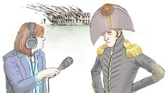 Two hundred years ago this week, invading British troops destroyed the White House and the U.S. Capitol. NPR wasn't there, but if we were, our coverage might have sounded something like this ...