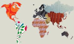 The entry page for Vitra.  Love how they have the continents and countries in fabric!
