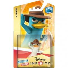 "Disney Infinity, ""Crystal Ferb-Agent P, GamePlay Character/Action Figure, for Playstation 3/Xbox 360"