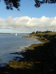 Belle-vue de l'île aux moines