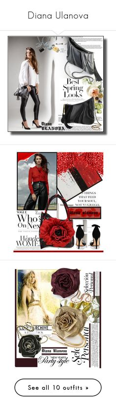 """Diana Ulanova"" by k-lole ❤ liked on Polyvore featuring H&M, Martha Stewart, Ethan Allen, Boohoo, pixley, WALL, 1928, KAROLINA, Valentino and modern"