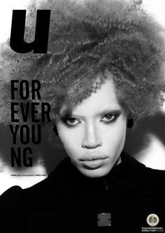 Diandra Forrest | Albino | Black model